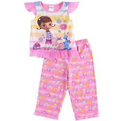 Doc McStuffins Toddler's Pink Pajama Set