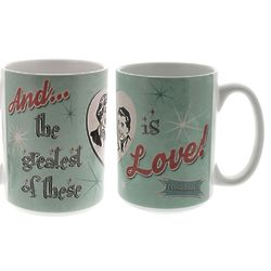 Retro The Greatest of Theses is Love Mug