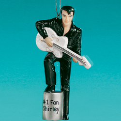 Personalized Elvis Ornament