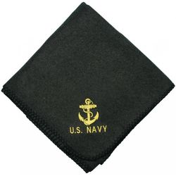 US Navy Anchor Embroidered Blanket