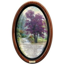 Thomas Kinkade Tree of Life Framed Canvas Collector's Plate