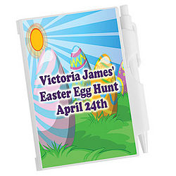 Egg Hunt Personalized Notepad