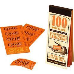 100 Pep Talk Tickets