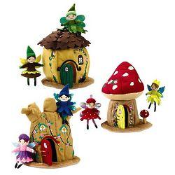 Soft Woodland Fairy Dolls