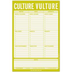 Culture Vulture Notepad