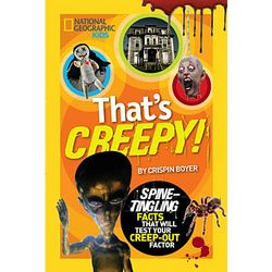 That's Creepy Spooky Facts Book