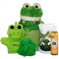 Bath Time with Froggy Jr. Kid's Spa Gift Basket