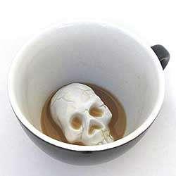 Creepy Skull Cup