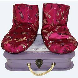 Dreamtime Brocade Foot Cozys