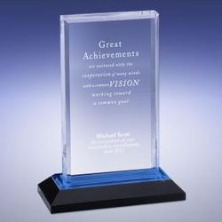 Personalized Blue Reflection Award