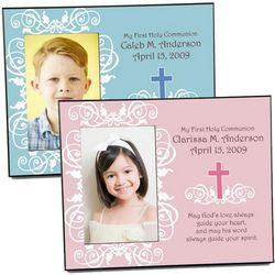 First Communion or Confirmation Picture Frame