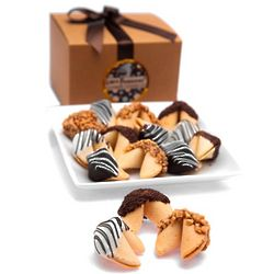 Hand-Dipped Gourmet Fortune Cookie Gift Box