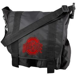 Ohio State Buckeyes Team Logo Diaper Bag
