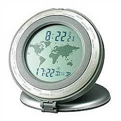 World Travel Alarm Clock
