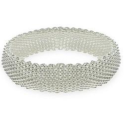 Mesh Sterling Silver Bracelet