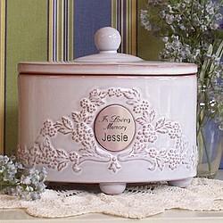 Ceramic Pet Urn for Pet Ashes