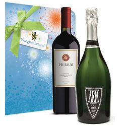 Congratulations Wine Duo