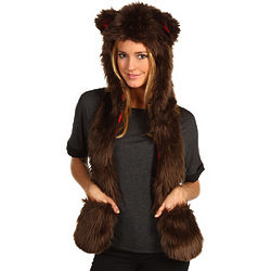 Brown Bear Traditional Hat