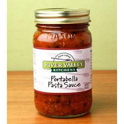 Portabella Pasta and Dipping Sauce