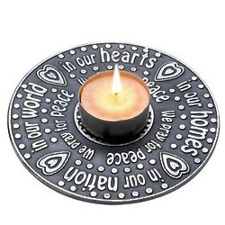 We Pray for Peace Prayer Ring