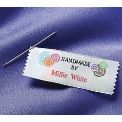 Personalized Sewing Labels