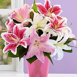 Deluxe Bouquet of Lilies for Mom