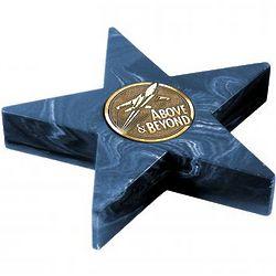 Navy Mini Star Medallion Award