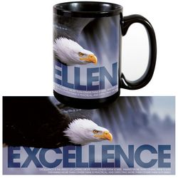 Excellence Eagle Ceramic Coffee Mug