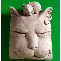 Catnap Stone Plaque