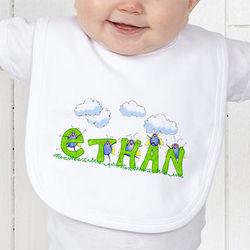 Bugs Life Personalized Baby Bib