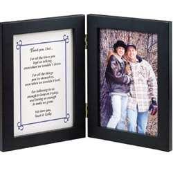 Thank You Dad 5x7 Bi-Fold Photo Frame