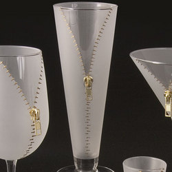 Zipper Pilsner Glasses