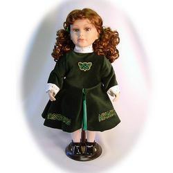 Enya the Irish Dancer Porcelain Doll