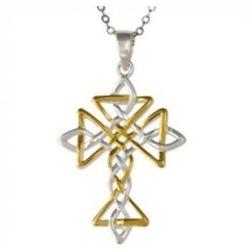 Celtic Knot Cross Necklace