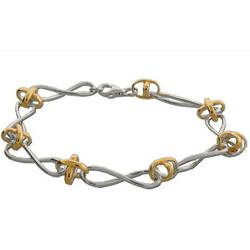 Tiffany Style Twist Bracelet in Sterling Silver