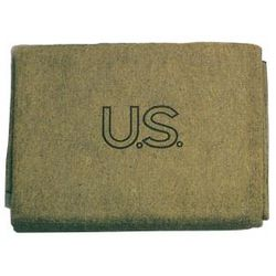 Olive Drab US Wool Blanket