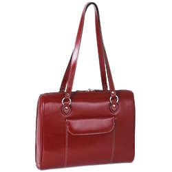 Ladies Glenview Leather Laptop Case