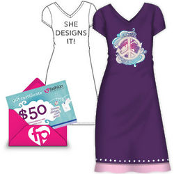$50 Gift Certificate to Design-Your-Own Fashion