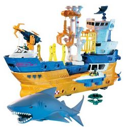Matchbox Mega Rig Shark Adventure