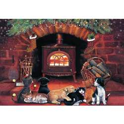 Puppies and Kittens Christmas Cards
