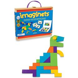 Imaginets Magnetic Wood Building Toy