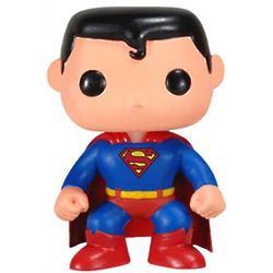 Cartoon Superman Action Figure
