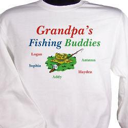 Fishing Buddies Personalized Sweatshirt
