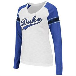 Duke Blue Devils Women's Sycamore Raglan Long Sleeve Shirt