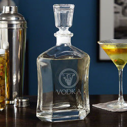 Top Shelf Custom Design Liquor Decanter
