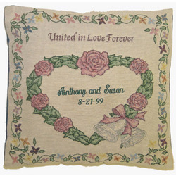 Personalized Wedding Pillow