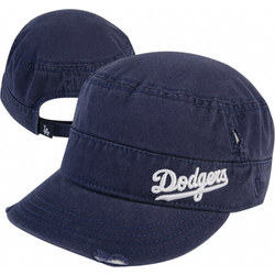 Los Angeles Dodgers Women's Ripped Military Hat