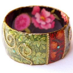 Hand-Crafted Hoop Bracelet