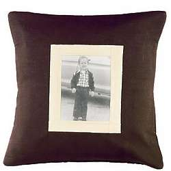 Personalized Family Heirloom Photo Accent Pillow
