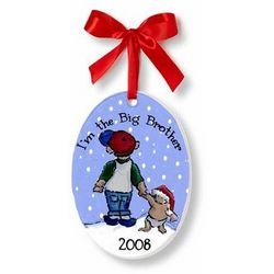 Personalized Big Brother Ornament